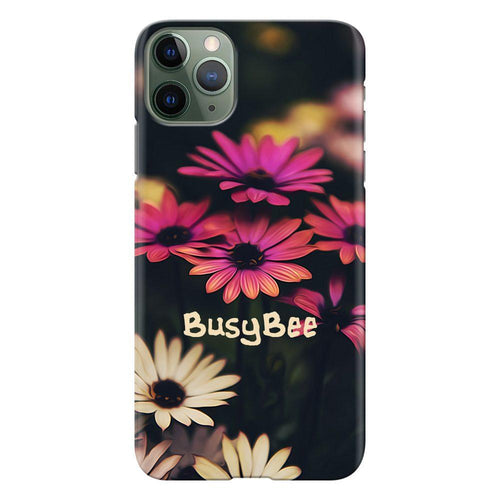 busy bee design designer back cover iphone 11 pro max printnawab