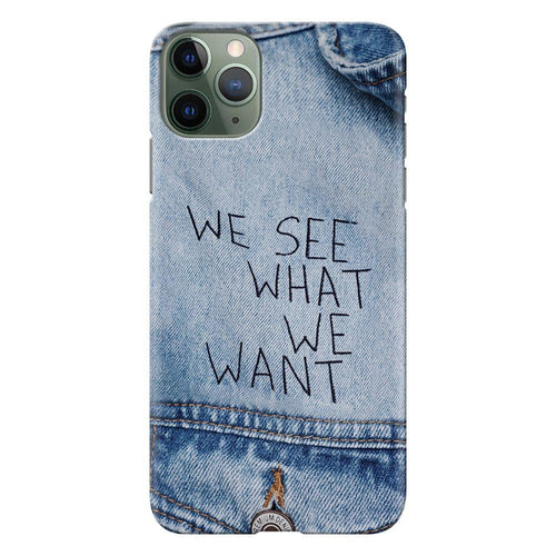 denim quote design designer back cover iphone 11 pro max printnawab