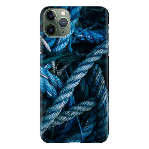 blue rope design designer back cover iphone 11 pro max printnawab