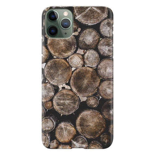wooden log design designer back cover iphone 11 pro max printnawab