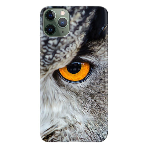 owl eye design designer back cover iphone 11 pro max printnawab