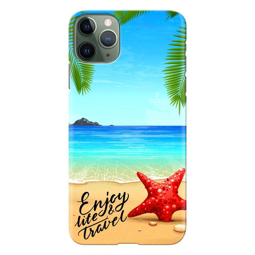 beach travel design designer back cover iphone 11 pro max printnawab