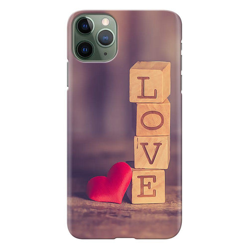 love blocks design designer back cover iphone 11 pro max printnawab