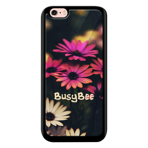 busy bee designer bumper cover iphone 6s glass case