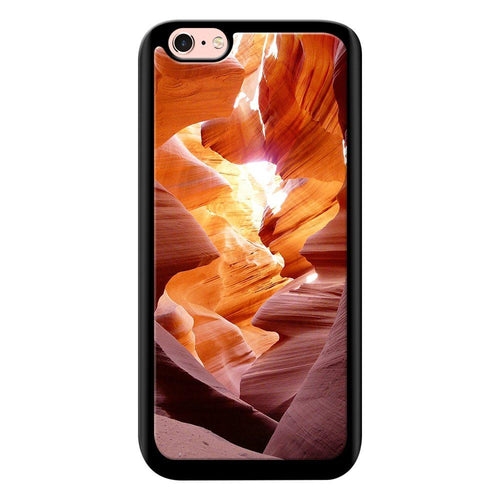 canyon waves designer bumper cover iphone 6s glass case