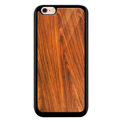 wood texture pattern bumper cover iphone 6s glass case