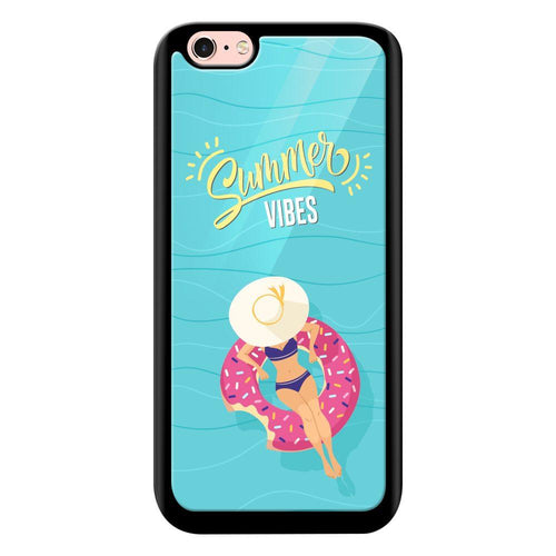 summer vibes designer bumper cover iphone 6s glass case