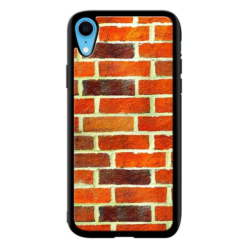 brick designer bumper cover iphone xr glass case