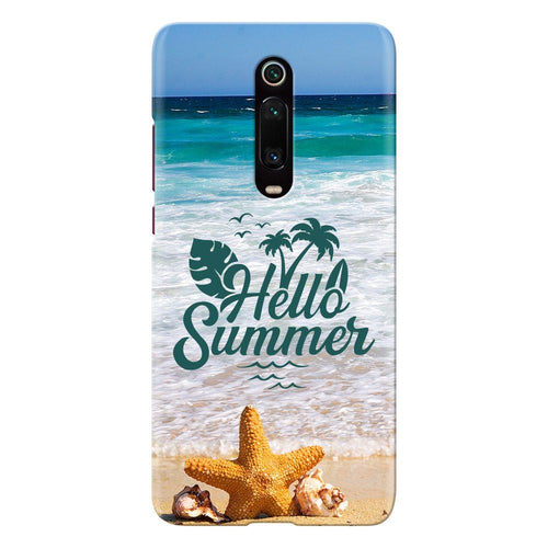 beach waves design designer back cover xiaomi mi k20 pro printnawab