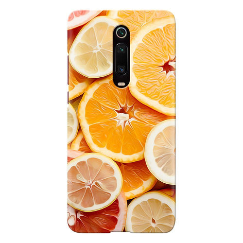 citrus fruit design designer back cover xiaomi mi k20 pro printnawab