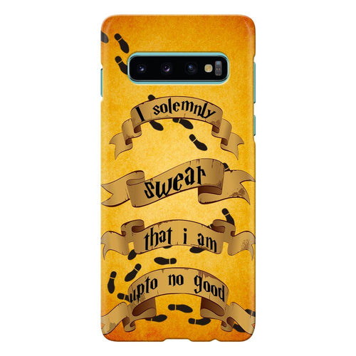 harry potter marauders map quote design cover galaxy s10 printnawab