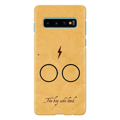 harry potter glasses design cover galaxy s10 printnawab