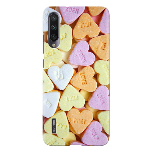heart candy design designer back cover xiaomi mi a3 printnawab