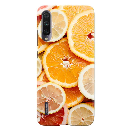 citrus fruit design designer back cover xiaomi mi a3 printnawab