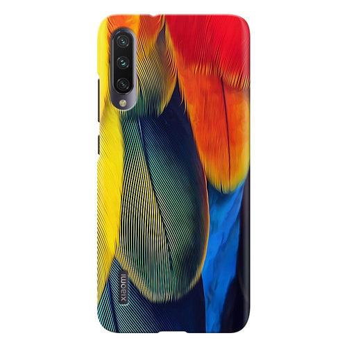 feather design designer back cover xiaomi mi a3 printnawab