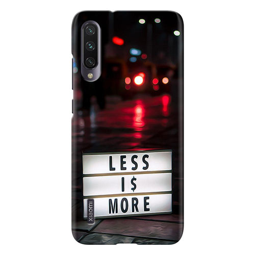 positive quote design designer back cover xiaomi mi a3 printnawab
