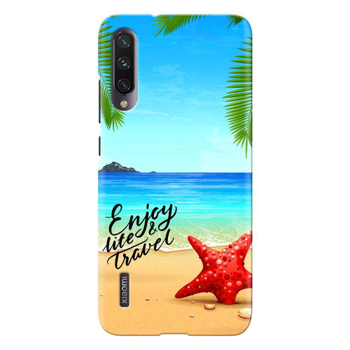 beach travel design designer back cover xiaomi mi a3 printnawab