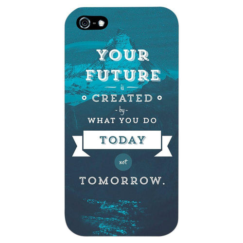Future Quote Design Cover - iPhone 5 - PrintNawab