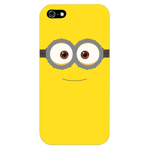 Despicable Minions Face Design Cover - iPhone 5 - PrintNawab