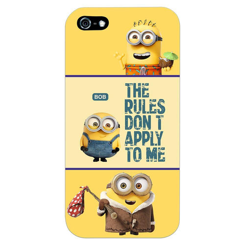 Despicable Minions Quote Design Cover - iPhone 5 - PrintNawab
