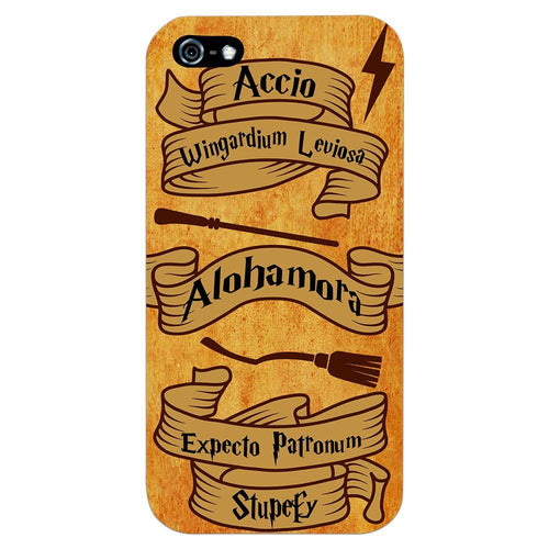 Harry Potter Spells Design Cover - iPhone 5 - PrintNawab