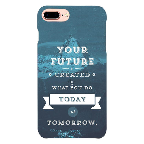 Future Quote Design Cover - iphone 8 plus- PrintNawab