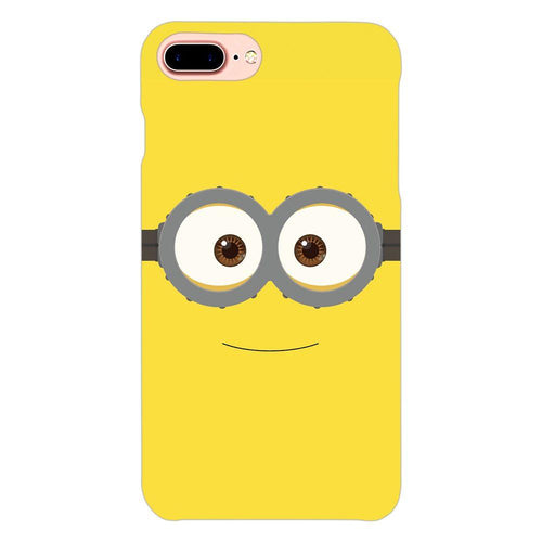 Despicable Minions Face Design Cover - iphone 8 plus- PrintNawab