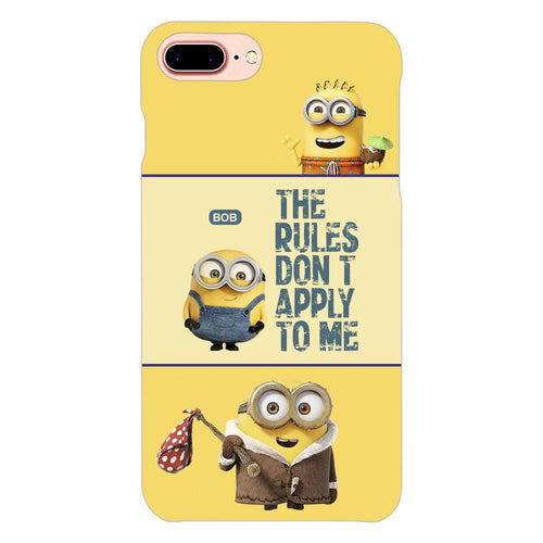 Despicable Minions Quote Design Cover - iphone 8 plus- PrintNawab