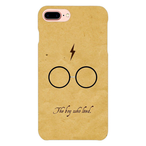 Harry Potter Glasses Design Cover - iphone 8 plus- PrintNawab