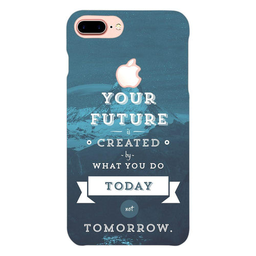Future Quote Design Cover - iphone 8 plus logo cut - PrintNawab