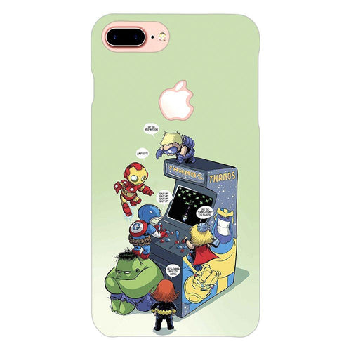 Avengers Superhero Gaming Design Cover - iphone 7 plus logo cut - PrintNawab