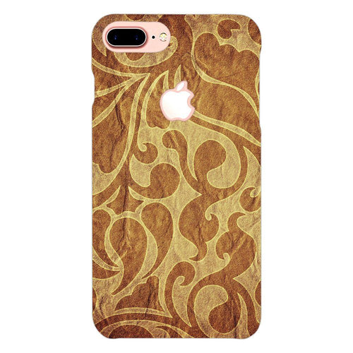 Funky Abstract Pattern Cover - iphone 7 plus logo cut - PrintNawab