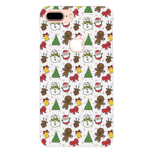 Christmas Cookie Elements Design Cover - iphone 7 plus logo cut - PrintNawab