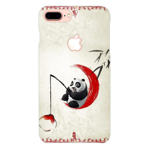Baby Kungfu Panda Po Design Cover - iphone 8 plus logo cut - PrintNawab
