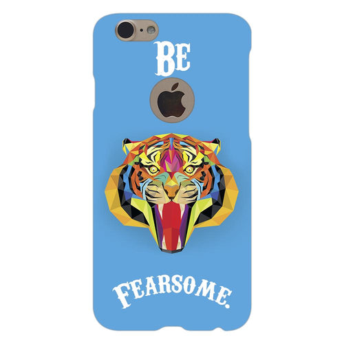 Fearsome Tiger Design Cover - iPhone 7 Logo Cut - PrintNawab