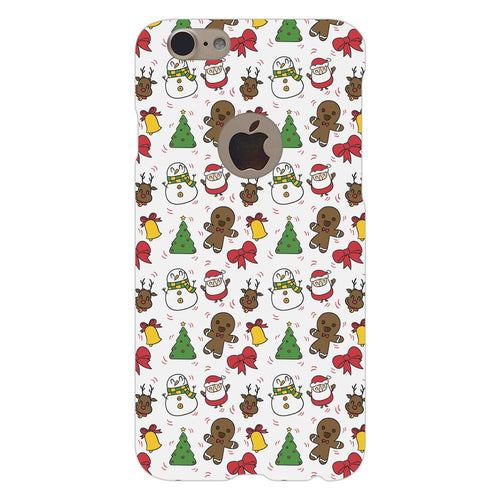 Christmas Cookie Elements Design Cover - iPhone 7 Logo Cut - PrintNawab