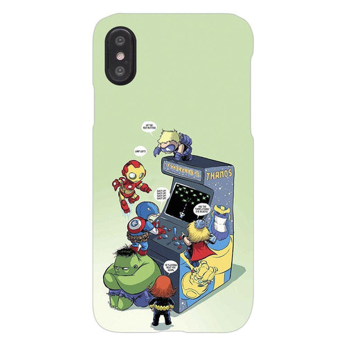 Avengers Superhero Gaming Design Cover - iphone X - PrintNawab