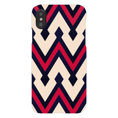 Beautiful Zig Zag Pattern Cover - iphone X - PrintNawab