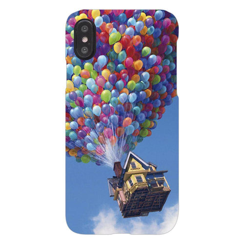 Disney Up in the Sky House Design Cover - iphone X - PrintNawab