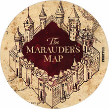 Load image into Gallery viewer, Marauder Map Design Mousepad