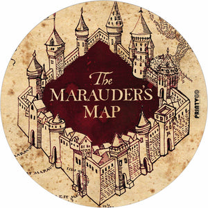 Marauder Map Design Mousepad