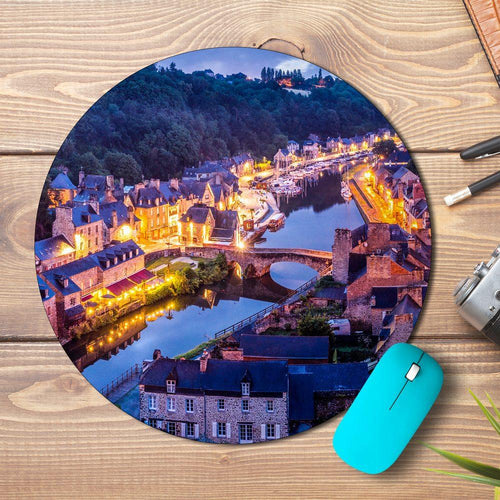 City Lights Design Mousepad - PrintNawab
