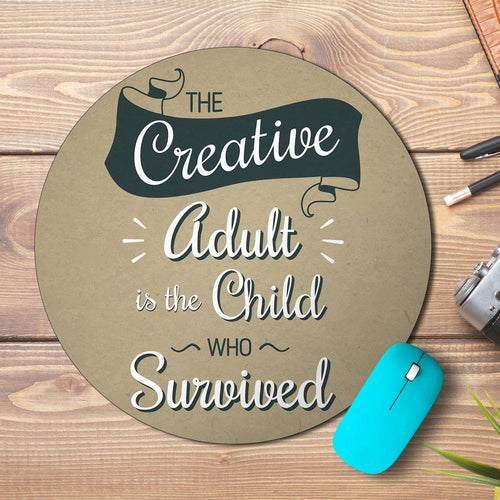 Creative Quote Design Mousepad - PrintNawab