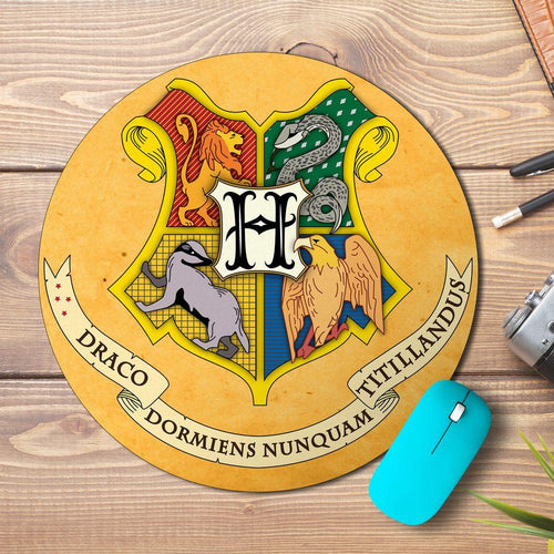 Hogwarts Shield Design Mousepad - PrintNawab