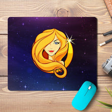 Load image into Gallery viewer, Virgo Zodiac Design Mousepad