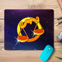 Load image into Gallery viewer, Libra Zodiac Design Mousepad