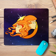 Load image into Gallery viewer, Gemini Zodiac Design Mousepad - PrintNawab