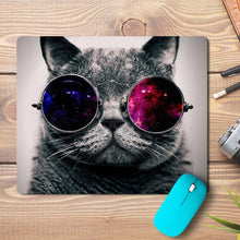 Load image into Gallery viewer, Cool Cat Design Mousepad - PrintNawab