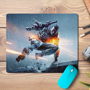 Battlefield Game Soldier Design Mousepad - PrintNawab