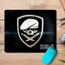Load image into Gallery viewer, Medal Honor Game Skull Design Mousepad